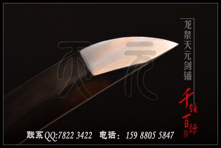 一体装武士刀 武士刀 花纹钢烧刃,日本武士刀图片