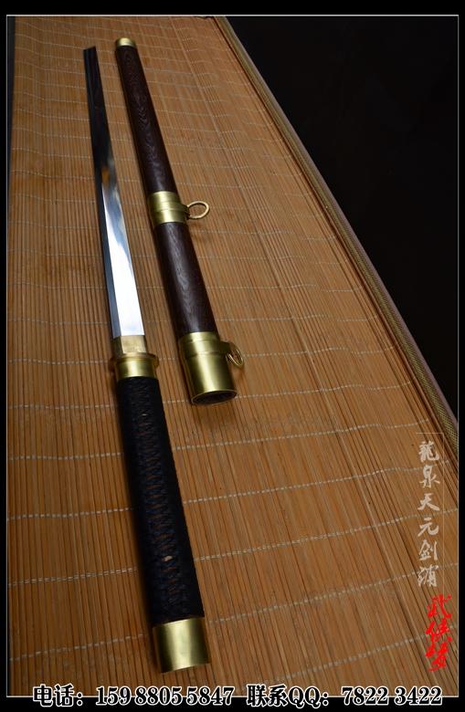 【唐刀】中国唐刀,唐刀图片,腰佩素唐刀