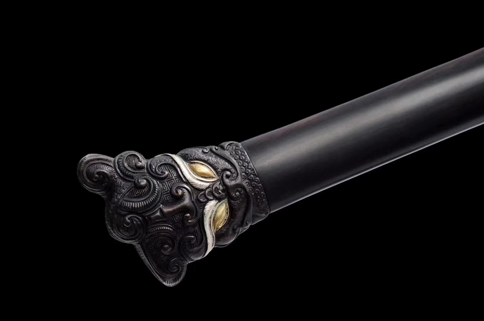 龙泉宝剑,龙泉刀剑,花纹钢宝剑专卖图片