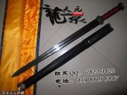 赤壁三国剑|汉剑|花纹钢|★★★|