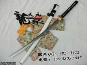 白龙虬武士刀|武士刀|花纹钢|★★★|标准长度