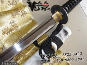 黑绳白飘武士刀|武士刀|中碳钢|普及版|★★|