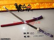 紫绳武士刀|武士刀|高碳钢|★★★|标准长度