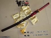 红绳暗红洒武士刀|武士刀|中碳钢|普及版|★★|