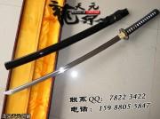高碳钢四小花武士刀|武士刀|高碳钢|★★★|标准长度