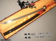 红绳8字武士刀|武士刀|中碳钢|★★★|标准长度