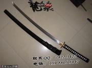 双色鸿雁武士刀|武士刀|花纹钢|★★|标准长度