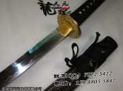 t10烧造全鱼皮武士刀|武士刀|高碳钢烧造|★★★★