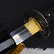 松野烧直刃武士刀|武士刀|花纹钢|★★★