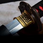 灵蛇三枚烧刃武士打刀|武士刀|高碳钢|★★★★