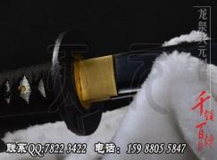 发黑均斧武士刀|武士刀|中碳钢|普及版|★★|