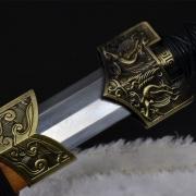 花纹钢四神兽八面汉剑|汉剑|花纹钢|★★★