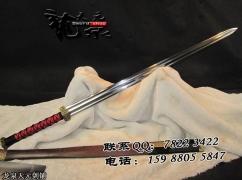 大双槽长款赤壁汉剑|汉剑|高碳钢|★★★