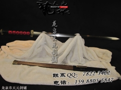 大汉八面汉剑|花纹钢|汉剑|★★★
