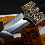 四神兽八面汉剑|汉剑|花纹钢|★★★