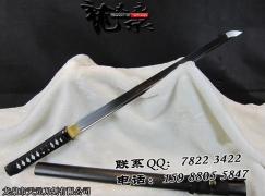 黑神20寸直刀|唐刀|高碳钢|★★★|武士刀