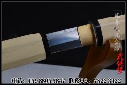 一体八角t10烧刃日本刀|武士刀|高碳钢|★★★