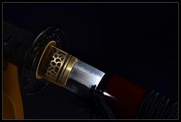 贞德直刃复合花纹钢武士刀|武士刀|花纹钢烧刃|★★★