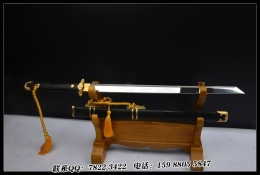 中款烧刃简装唐刀|t10高碳钢烧刃|唐刀|★★