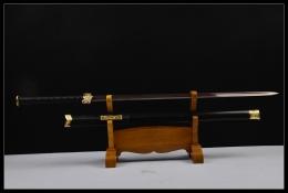 彩光八面汉剑|汉剑|花纹钢|★★★