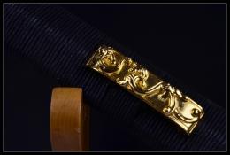 镀金装刻花八面汉剑|高碳钢|★★
