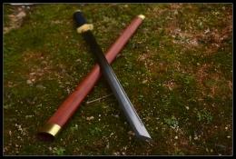 红木六角镡切刃唐刀|高碳钢|唐刀|★★