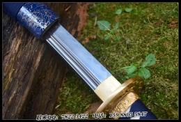 幽蓝鹈首造武士刀|高碳钢t10|武士刀|★★★