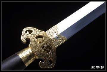 精品传统手工剑 龙泉宝剑 花纹钢 ★★★★
