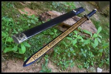 四兽镇宅汉剑不开刃