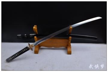 羽毛钢精品武士刀|花纹钢|武士刀|★★★★