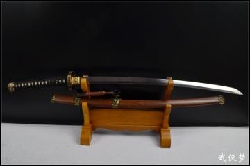 双狮普及太刀|花纹钢|武士刀|★★★