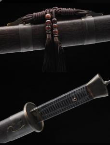 手工包铜雁翎刀|清刀|★★★