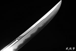 战龙精品清刀|花纹钢烧刃|★★★★