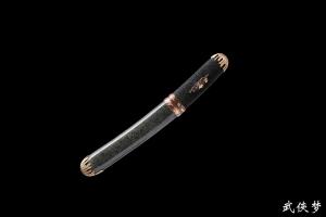 全鱼皮小袖刀|花纹钢|★★★★