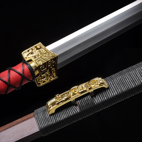 锰钢八面汉剑|超值龙泉剑|高碳钢