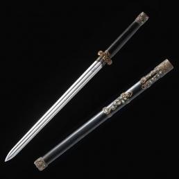 中款秦剑|花纹钢|龙泉剑