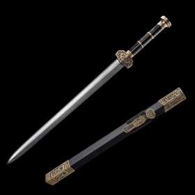至尊如意中款八面汉剑|汉剑|花纹钢