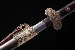 新款豪华八面唐剑|龙泉剑|花纹钢