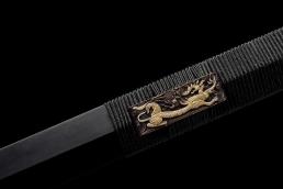 四兽扭转纹八面汉剑|汉剑|扭转精品花纹钢