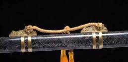 全鱼皮鞘简装唐刀|唐刀|花纹钢