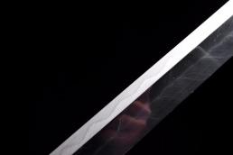 精品手锻羽毛纹烧刃唐刀|唐刀|手锻钢|★★★★★