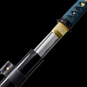 墨绿绳直造武士唐刀|唐刀|碳钢|★★