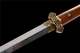 回纹唐剑 花纹钢 龙泉剑 ★★★