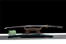 和道化妆研烧刃武士刀|武士刀|高碳钢t10|★★★★
