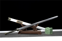 金属鞘长龙汉剑|汉剑|碳钢|金属鞘金属柄 未开刃