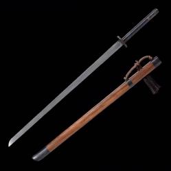花纹钢传统明刀|中国刀|花纹钢|★★★★