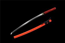 金鹏真横首武士刀|武士刀|高碳钢60锰|★★★