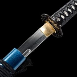 惊涛百炼花纹钢武士刀|花纹钢烧刃|武士刀|★★★★