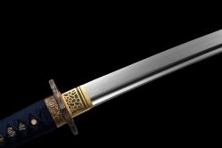 浪风居合武士刀|百炼花纹钢|武士刀|★★★